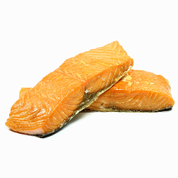 Hot-smoked Norwegian salmon (Double side)