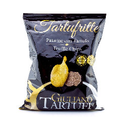 Potatoe chips with truffels